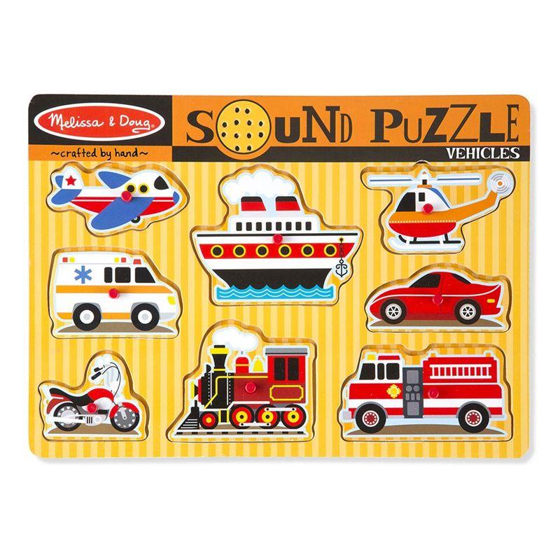 Vehicles Sound Puzzle