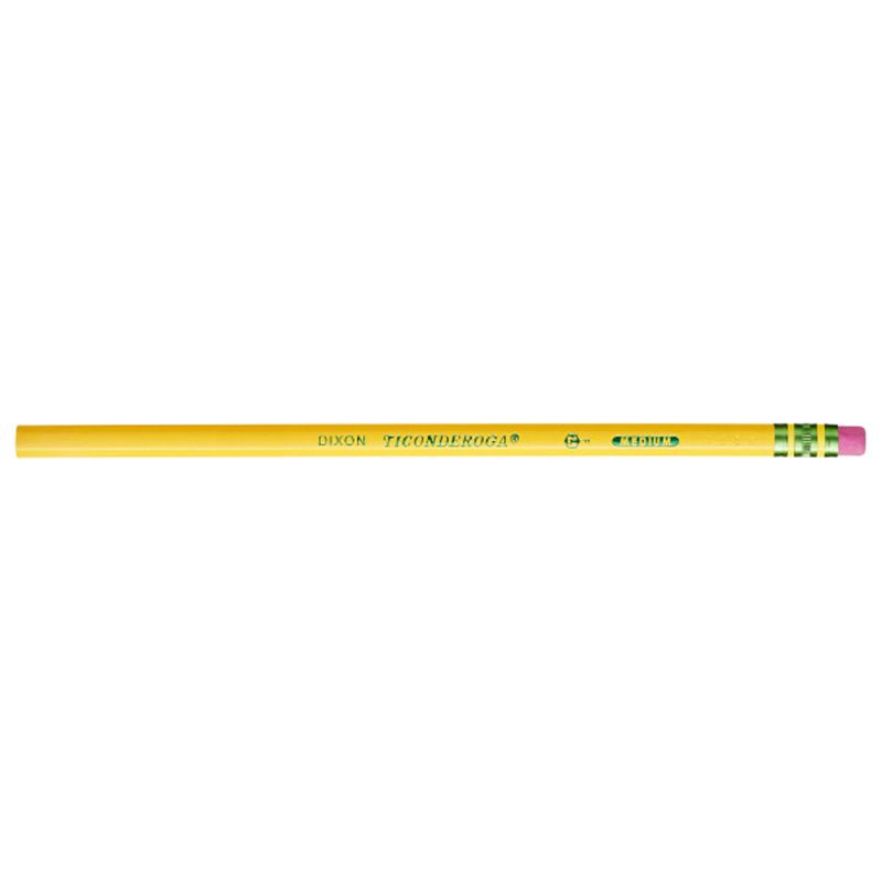 Original Ticon Pencils No 2.5 12bx Medium Yellow Unsharpened