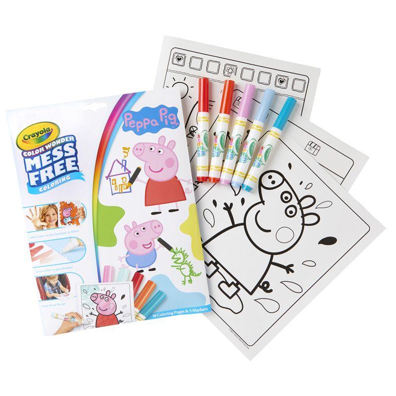 Coloring Pad & Markers Peppa Pig Color Wonder