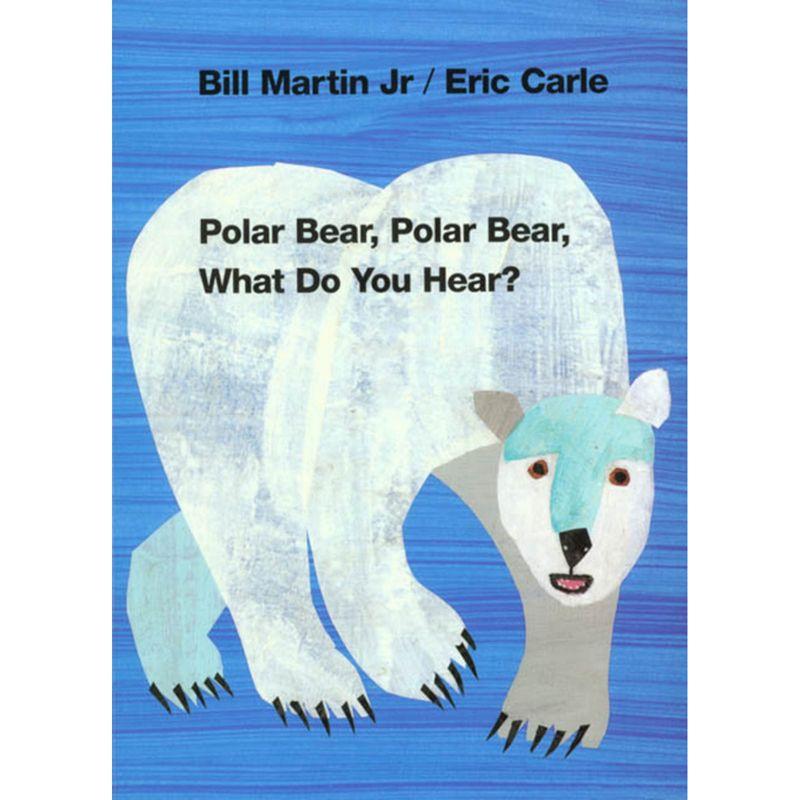 Polar Bear Polar Bear What Do You Hear Board Book
