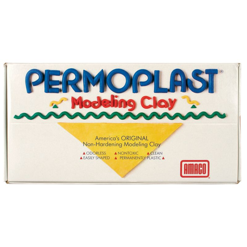 Permoplast Clay Cream 1lb Non Hardening