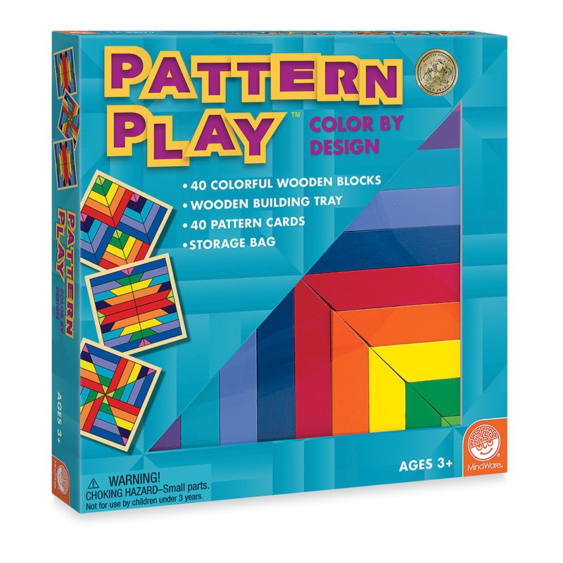 Pattern Play Age 3 & Up
