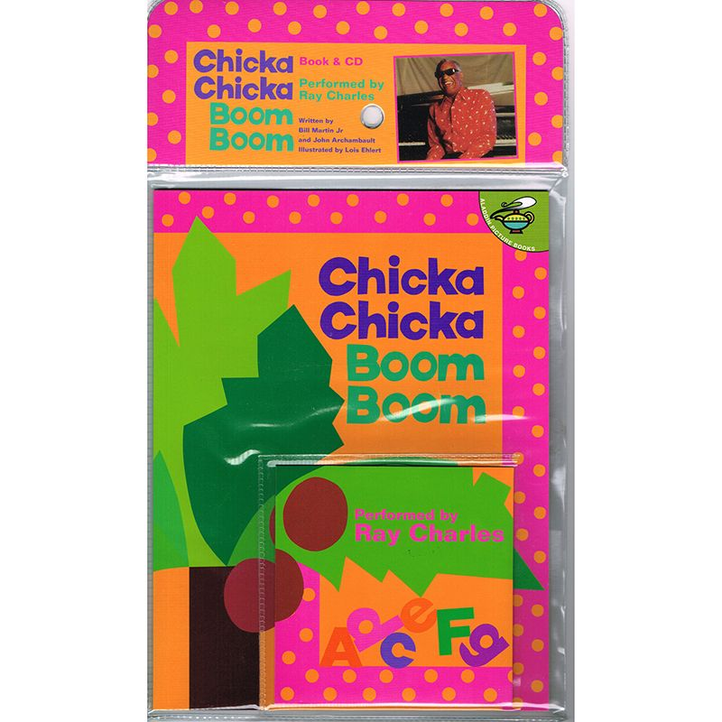 Chicka Chicka Boom Boom Carry Along Book & Cd