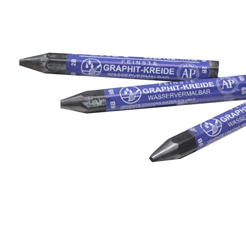 Graphite Crayons Water Soluble 24st