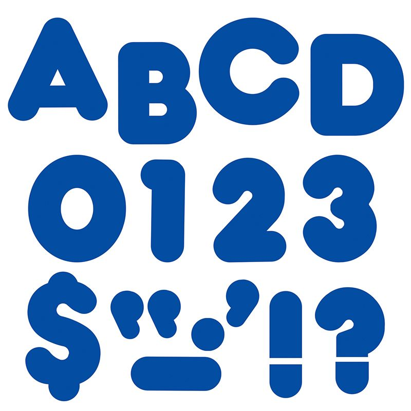 Ready Letters 4 Casual Royal Blue
