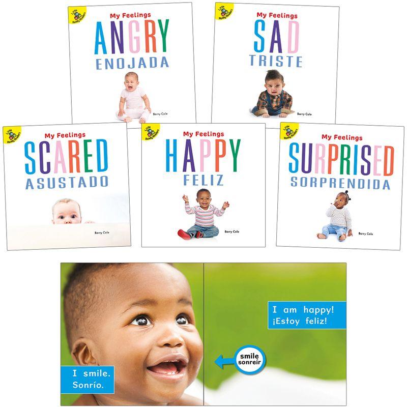 My Feelings Bilingual Board Books Set Of 5