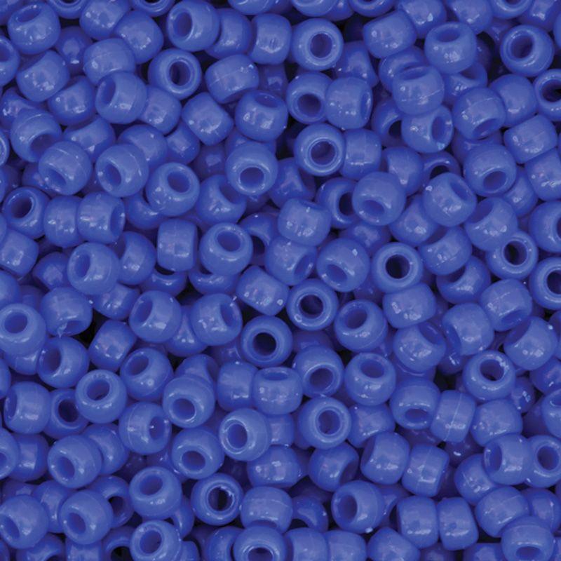 Pony Beads Blue 1000 Pieces