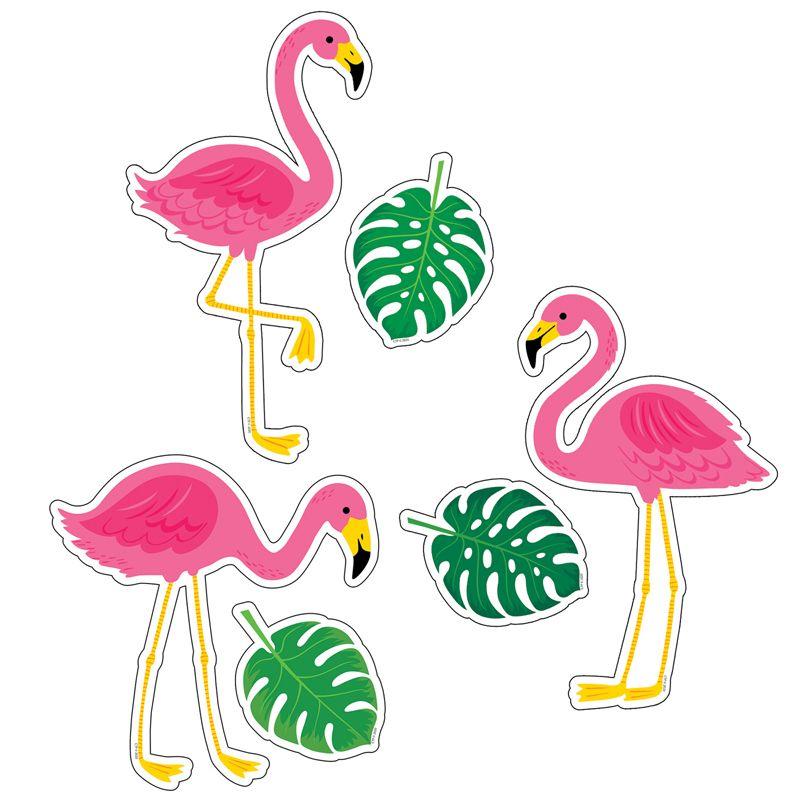 Palm Paradise Flamingo Fun Cutouts