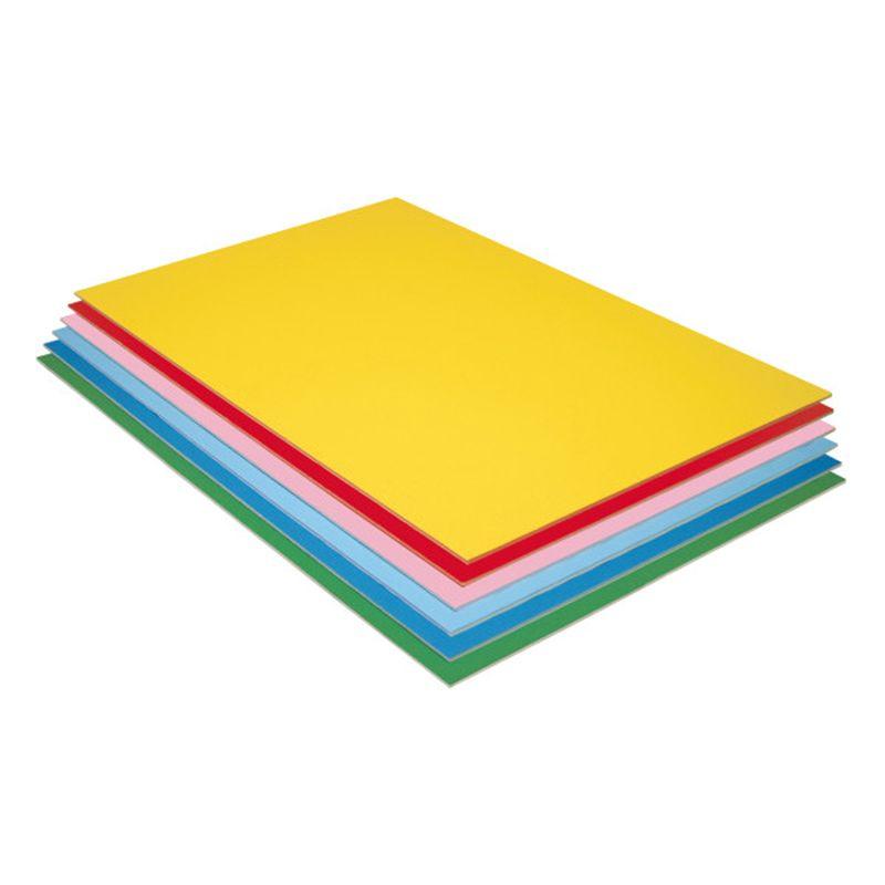 Pacon Value Foam Board 12Pk Asstd Colors