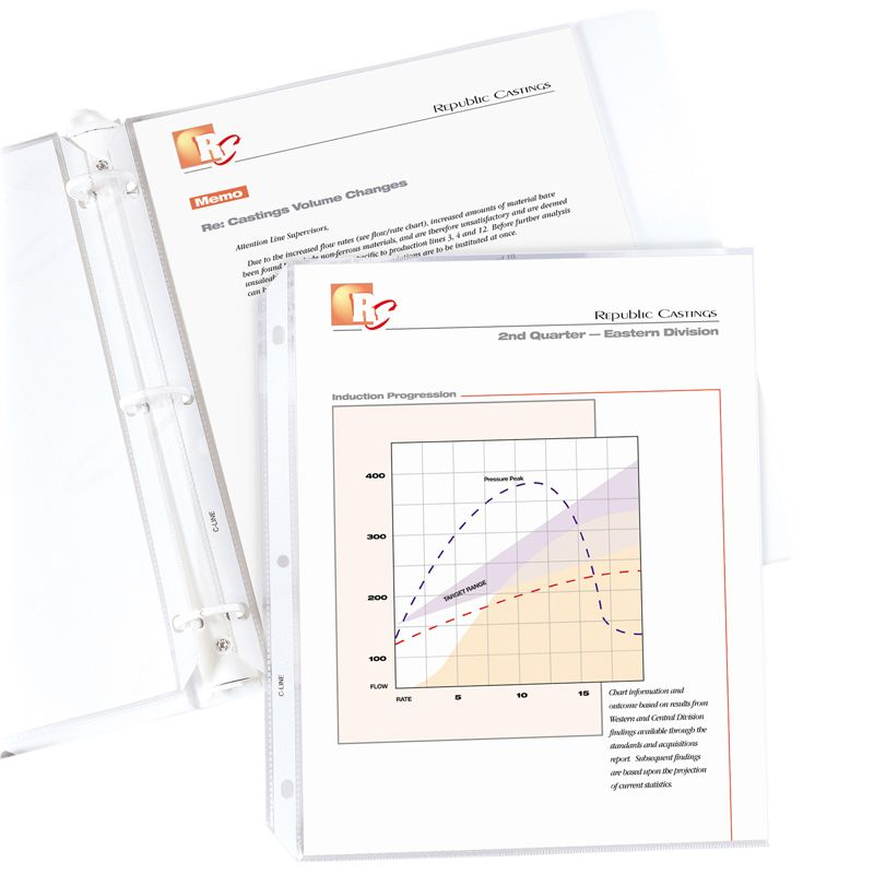 Sheet Protector Stand Weight 100/bx Clear