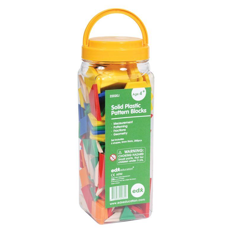 Pattern Blocks Plastic
