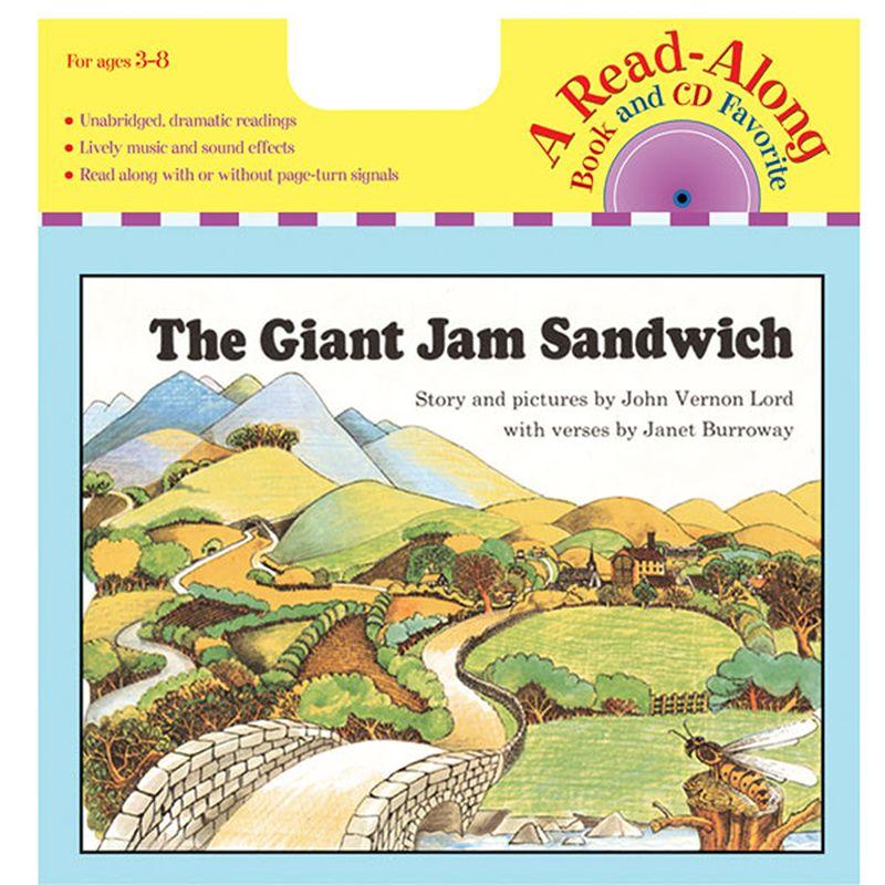 Carry Along Book/Cd The Giant Jam Sandwich