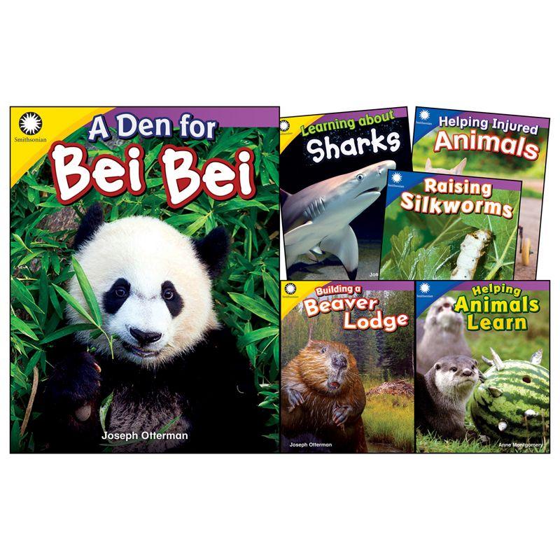 Animals Grades K 1 6 Book Set Smithsonian Informational Text