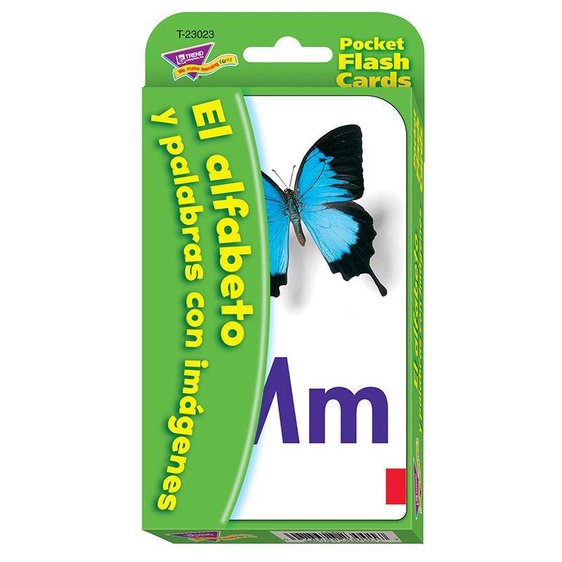 Pocket Flash Cards Spanish Alpha