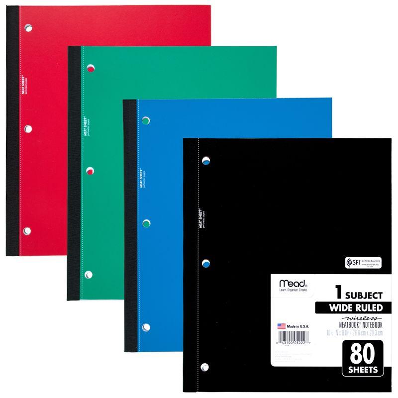Notebook Wireless Neatbook 80 Sht 10 1/2 X 8