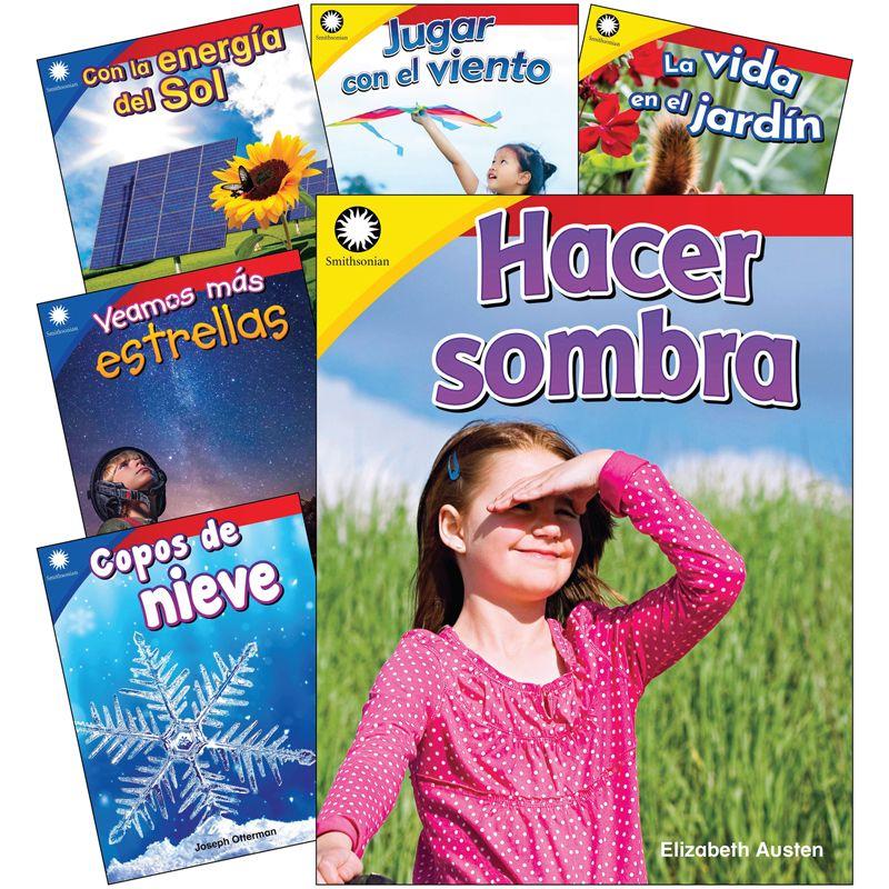 The Natural World Spanish Gr K-1 6 Book Set Smithsonian Info