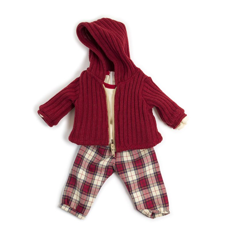 Doll Clothes Cold Weather Pants Red
