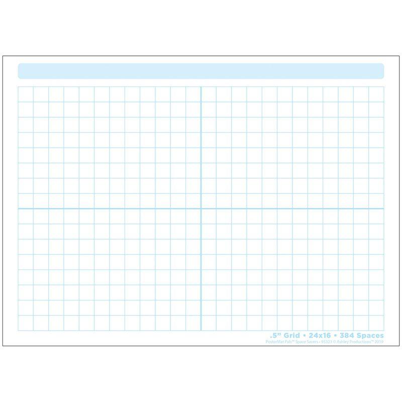 Grid Blocks 468 Blocks Postermat Pals Smart Poly Single Sided