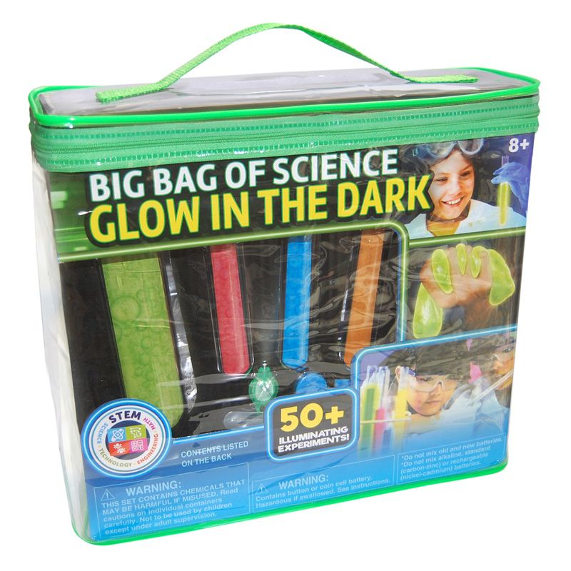 Big Bag Of Glow In The Dark Science