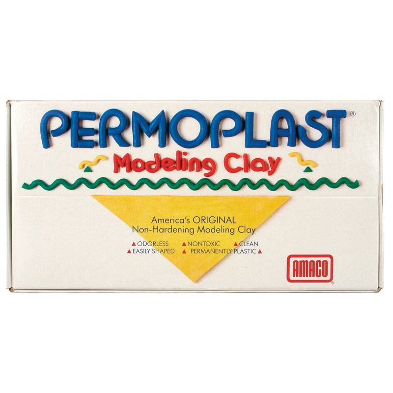 Permoplast Non Hardening Clay Green