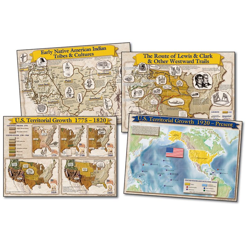 Bb Set Historical Maps Of The Us 17X24