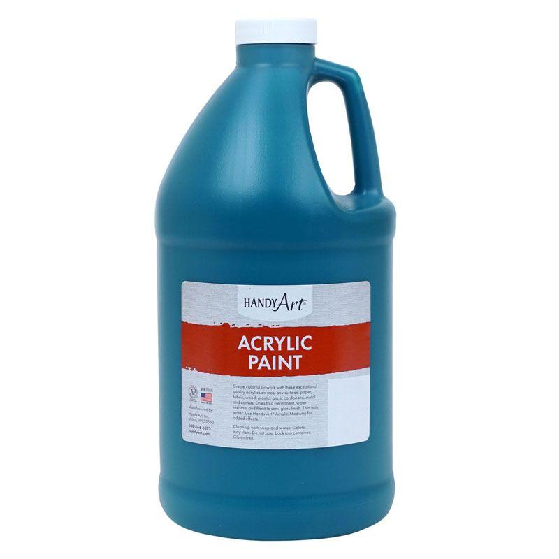 Paint Half Gallon Phthalo Green Acrylic