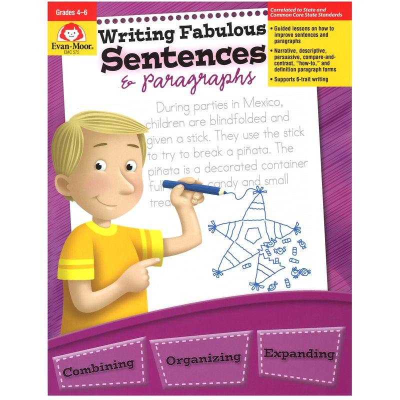 Writing Fabulous Sentences & Gr 4-6 Paragraphs