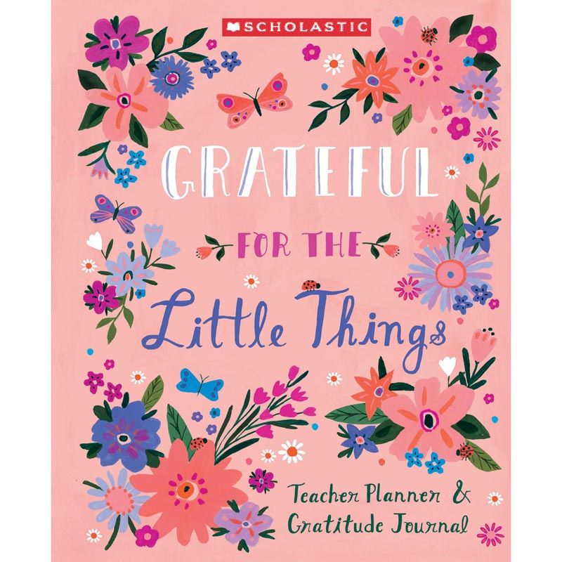 Teacher Planner & Gratitude Journal
