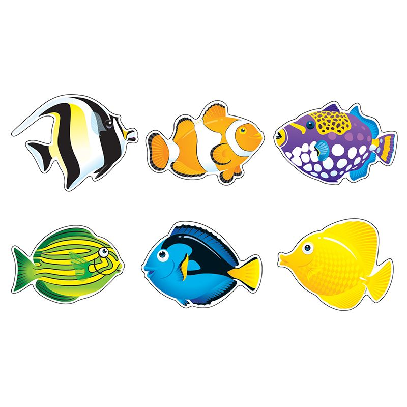 Fish Friends Variety Pk Classic Accents
