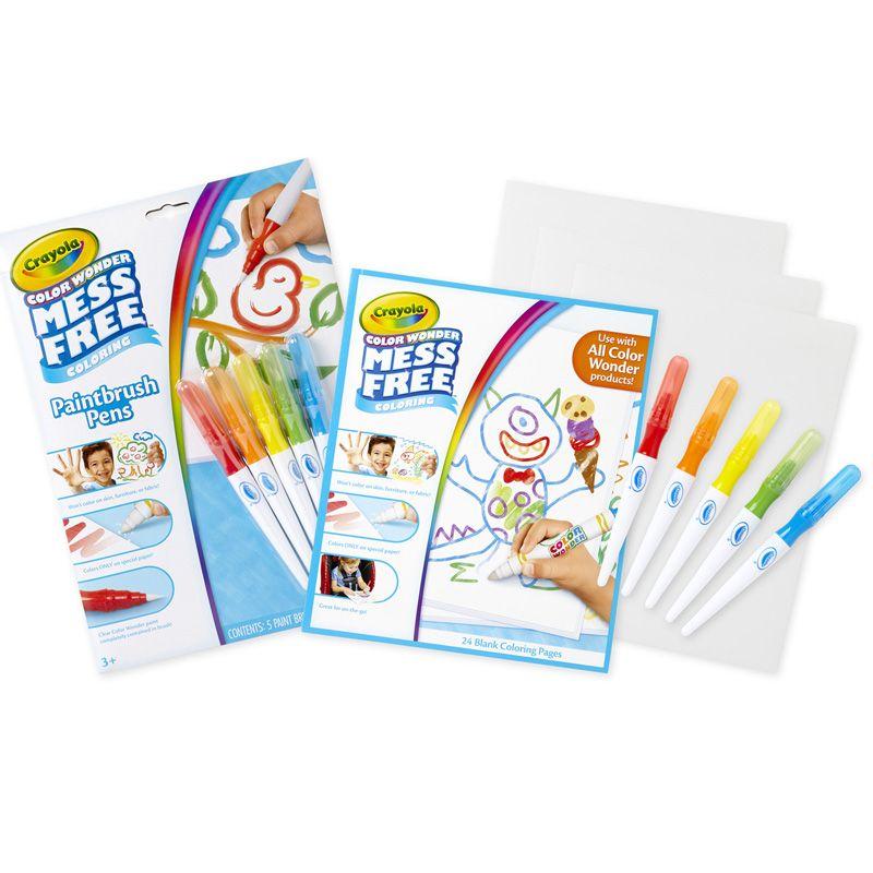 Color Wonder Paintbrush Pens