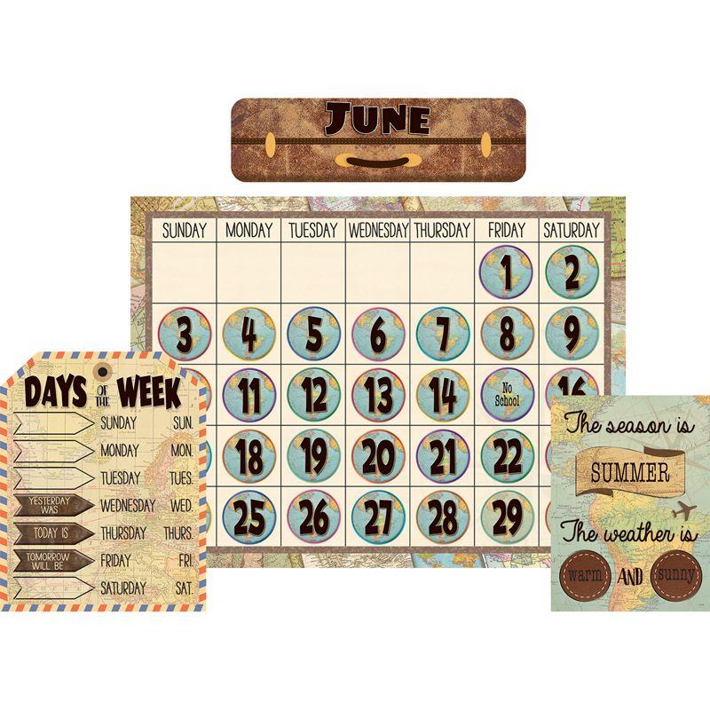 Travel The Map Calendar Bb St