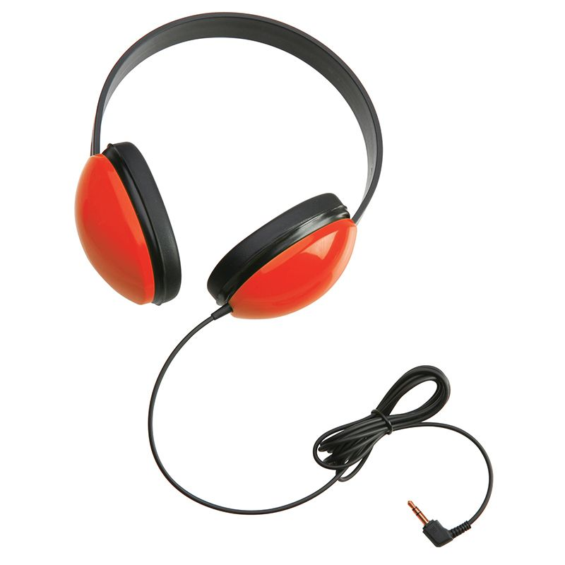 Listening First Stereo Headphones Red