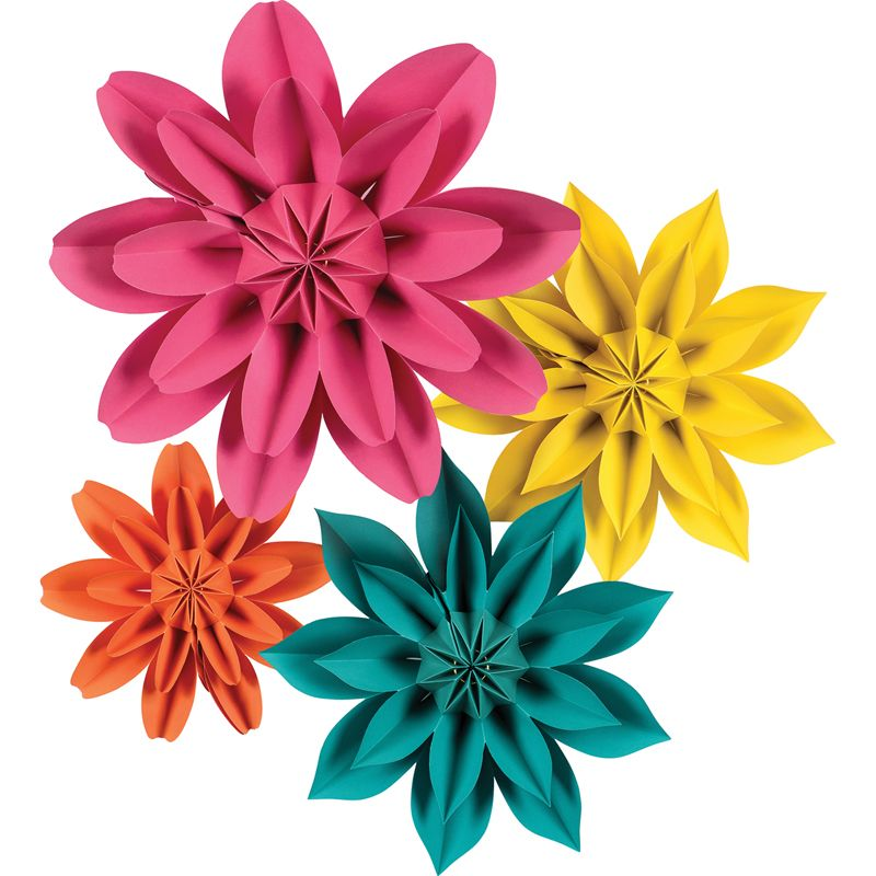 Beautiful Brights Paper Flowers