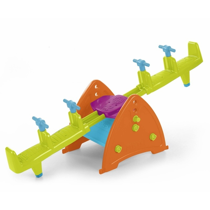 Quad Seesaw Teeter-totter, Sturdy And Durable For Home, Daycare Or Preschool