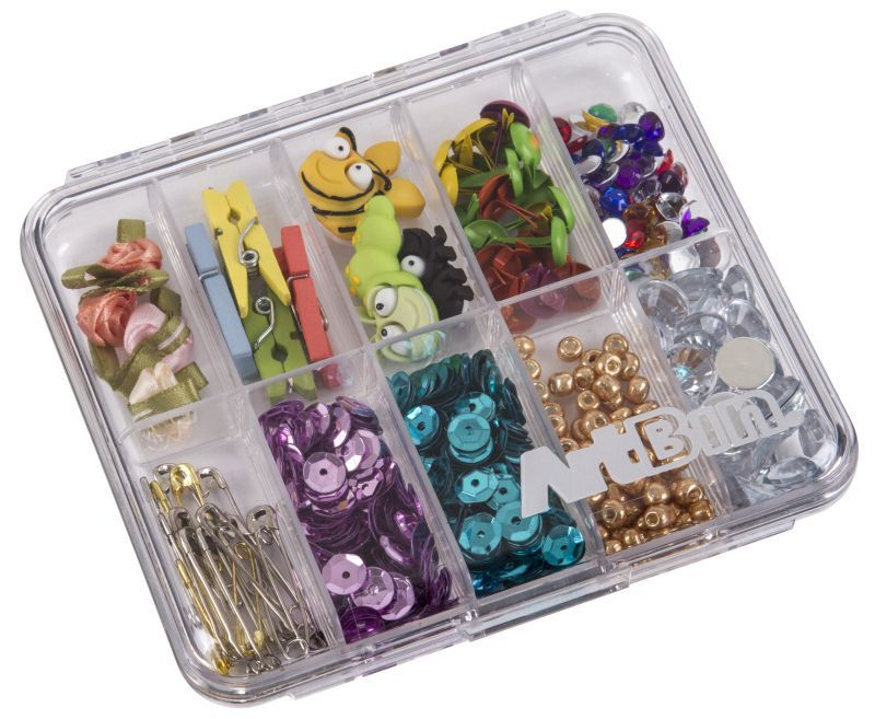 4 X 4 Slim Line - 10 Compartments (Sold 2 Per Pack)