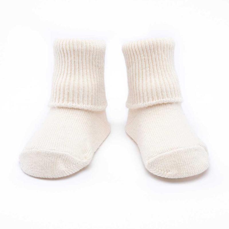 Maggie's Functional Organics Natural Infant Sock 3-Pack