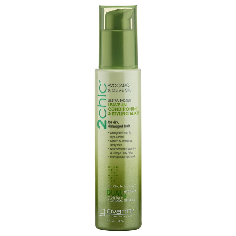 Giovanni Ultra- Moist Leave- In Conditioning & Styling Elixir 4 Fl. Oz