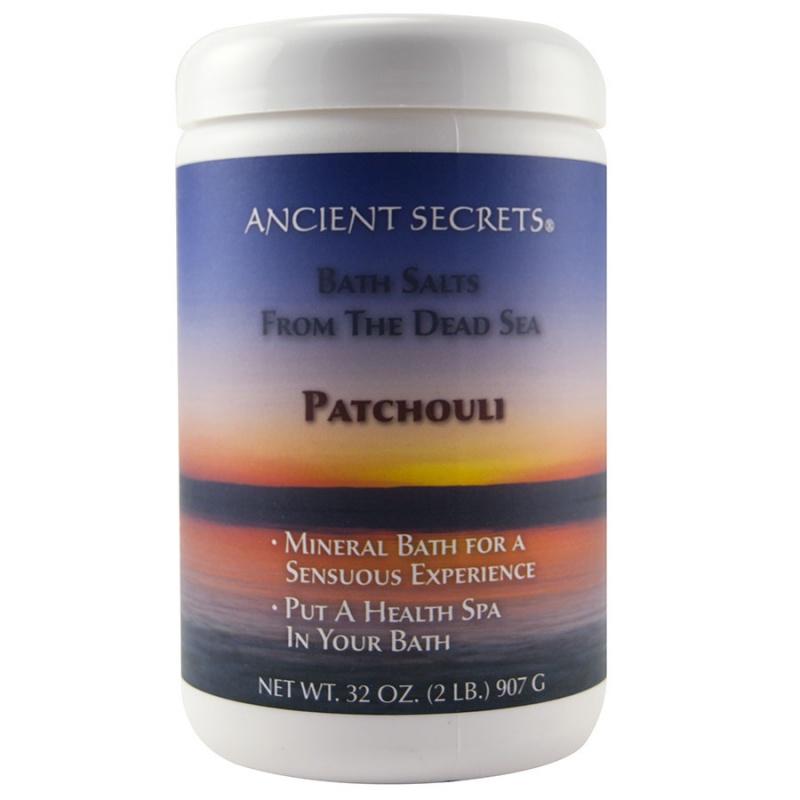 Ancient Secrets Patchouli Mineral Bath 32 Oz.