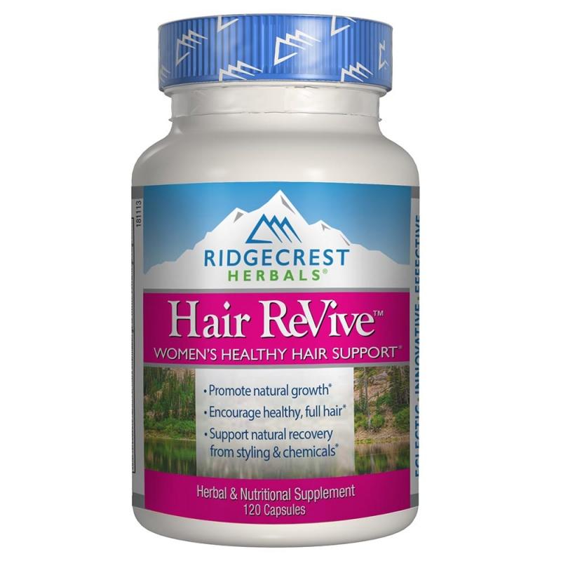 Ridgecrest Herbals Hair Re Vive 120 Count