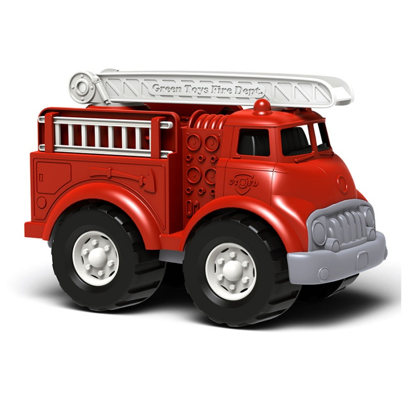 Green Toys Red Fire Truck For 1+ Years 10 1/2 X 6 1/4 X 7 1/2