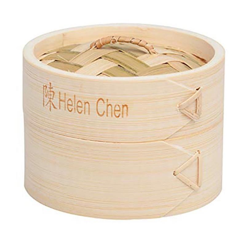 Helen's Asian Kitchen 4 Wide Bamboo Steamer 2 Pack