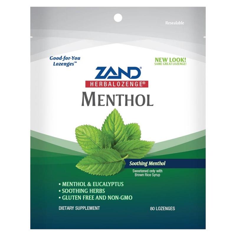 Zand Menthol Family Size Herba Lozenges 80 Count