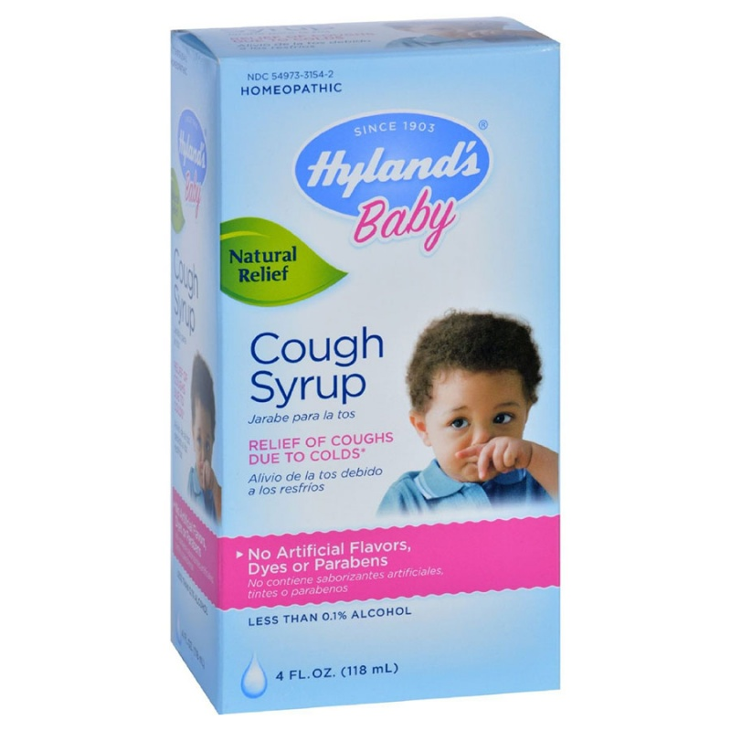 Hyland's Baby Cough Syrup 4 Fl. Oz.
