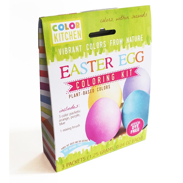 Color Kitchen Natural Easter Egg Coloring Kit