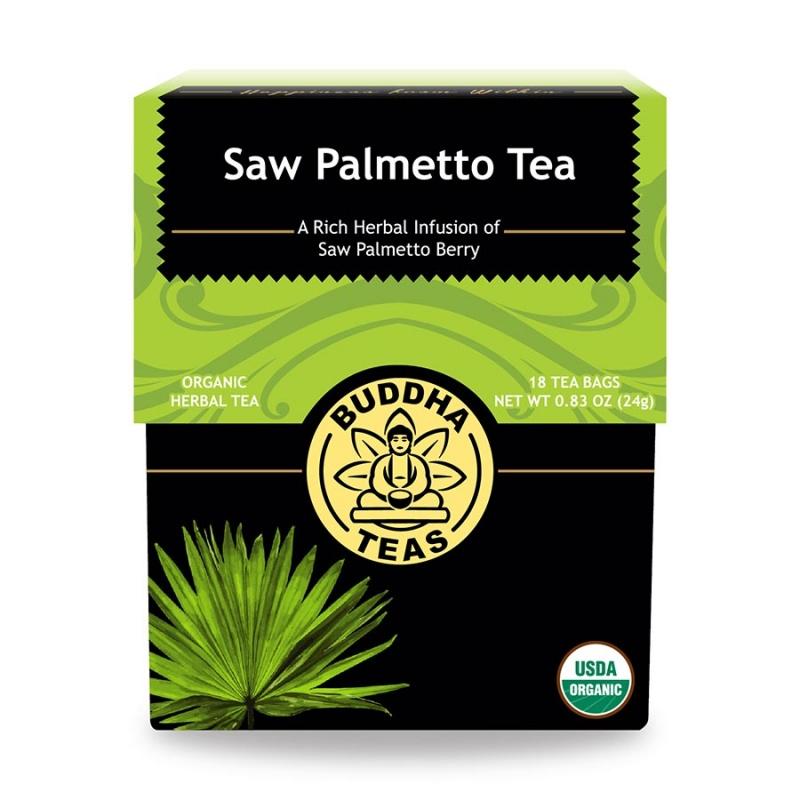 Buddha Teas Organic Saw Palmetto 18 Tea Bags