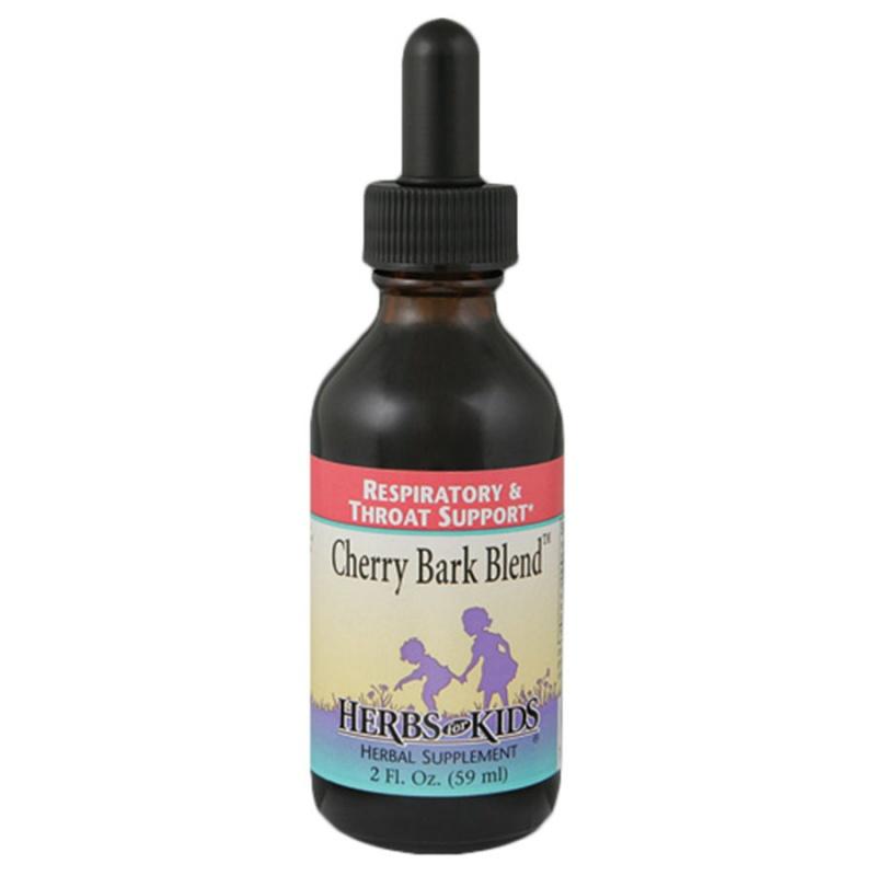 Herbs For Kids Cherry Bark Respiratory Support 2 Fl. Oz.