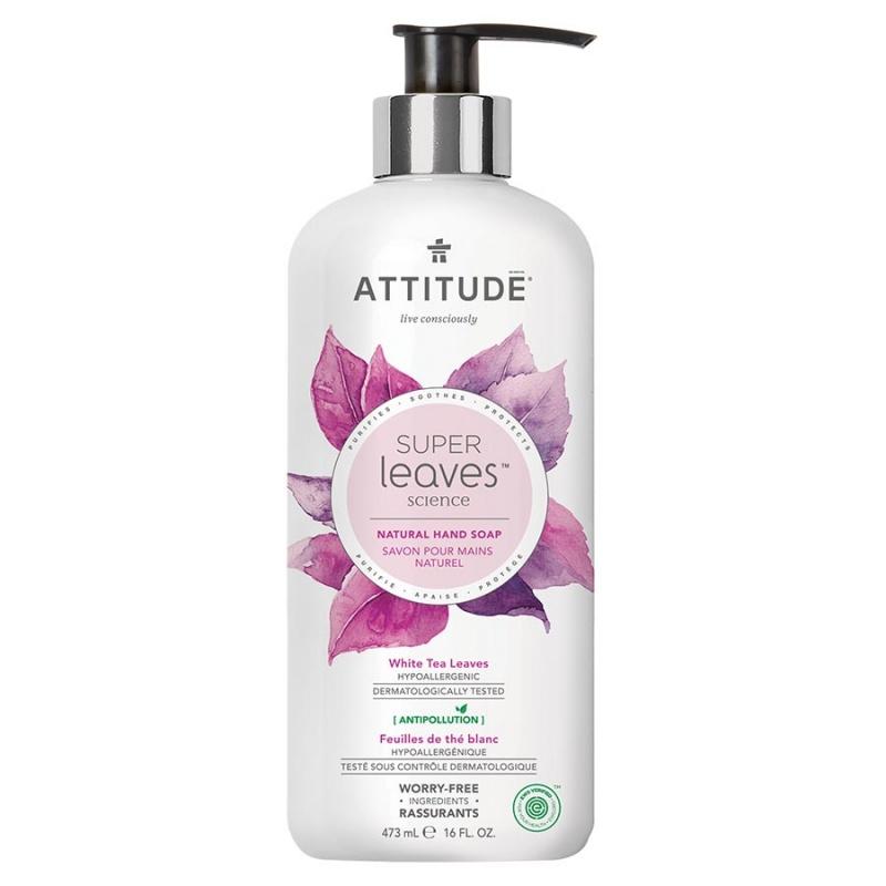Attitude White Tea Leaves & Quinoa Hand Soap Gel 16 Fl. Oz