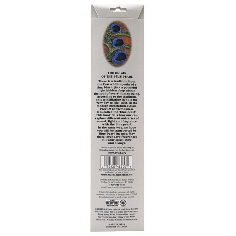 Blue Pearl Premium Silver Lotus Incense 20 Grams