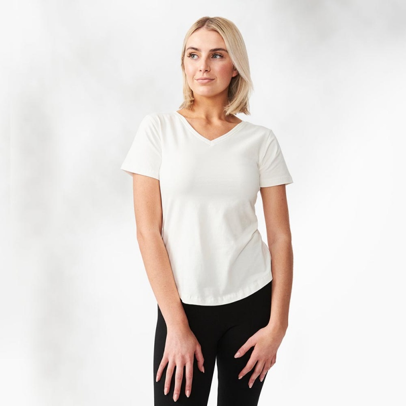 Maggie's Functional Organic Extra Large White T- Shirt