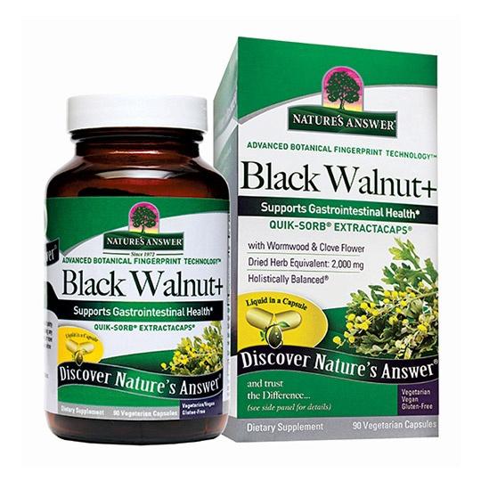 Nature's Answer Black Walnut & Wormwood